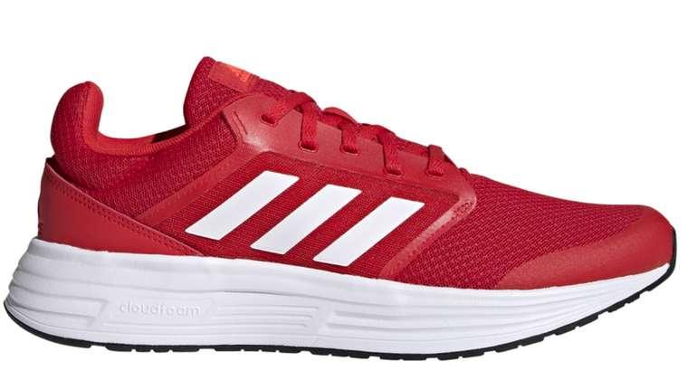 adidas Galaxy 5 Herren Laufschuhe Sneaker in rot/weiß für 34,89€inkl. Versand (statt 43€)