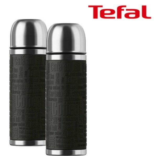 2x Tefal K30642 Edelstahl-Isolierflasche (1L) für 35,90€ (statt 50€)