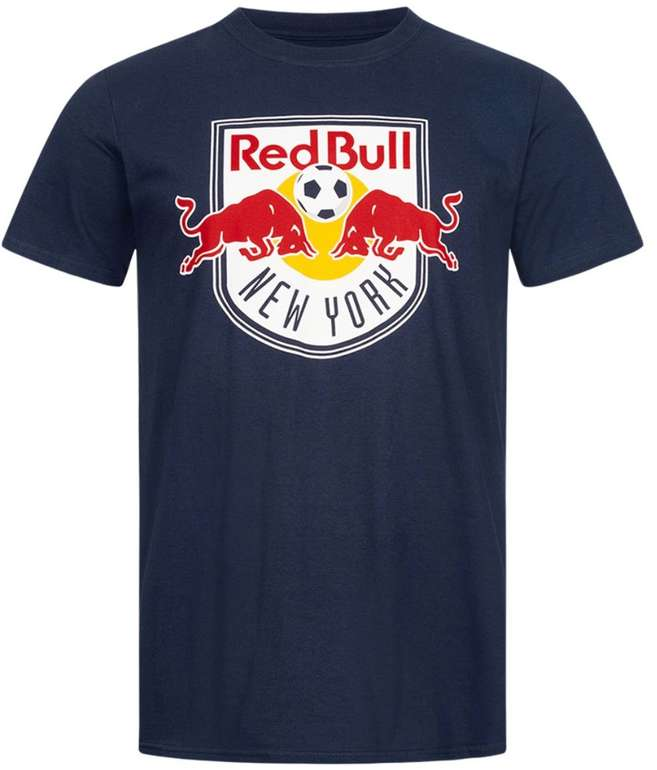 New York Red Bulls Fanatics MLS Logo Herren T-Shirt für 15,94€ inkl. Versand (statt 20€)