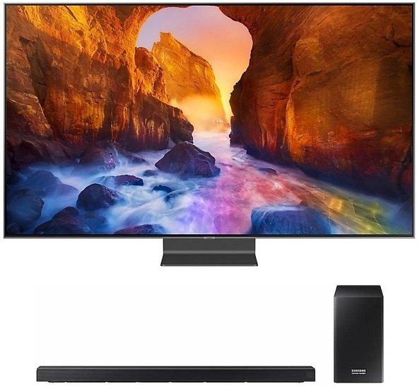 Samsung GQ65Q90RGTXZG QLED UHD 4K SMART TV + Samsung HW-Q60 Soundbar für 2.338,90€