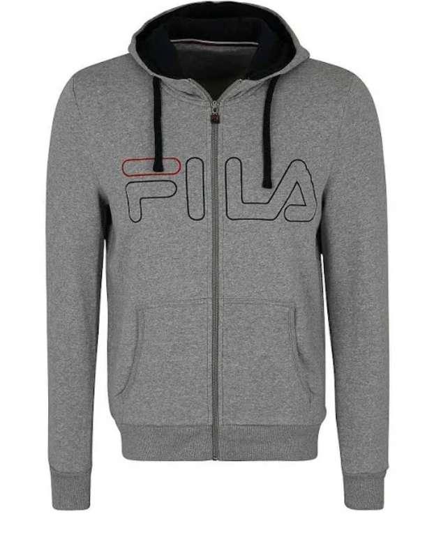 FILA Sportsweatjacke 'willi' in dunkelgrau für 26,96€ (statt 65€)