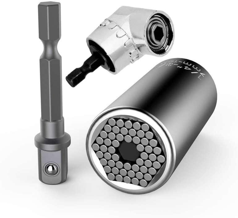 Niudai 7-19mm Universalschlüssel-Steckschlüssel Set für 10,19€ inkl. Prime Versand (statt 17€)