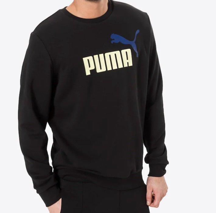 Puma Ess+ 2 Big Logo Crew Herren Sweatshirt für 17,45€ inkl. Versand (statt 36€)