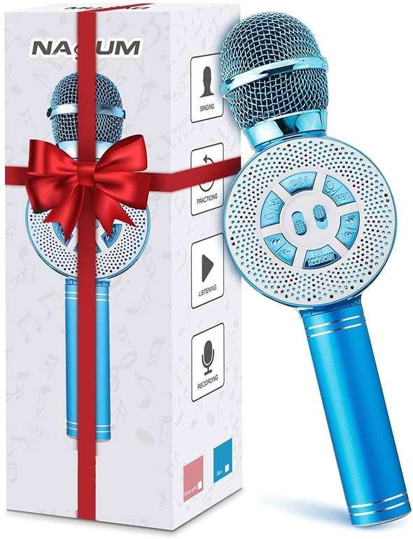 Nasum Bluetooth LED Karaoke Mikrofon für 12,34€ inkl. Prime Versand (statt 17€)