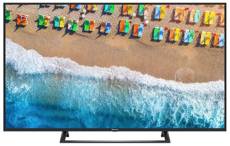Hisense H55BE7200 - 55 Zoll UHD LED-Smart TV mit Triple Tuner für 349,90€ inkl. Versand (statt 399€)