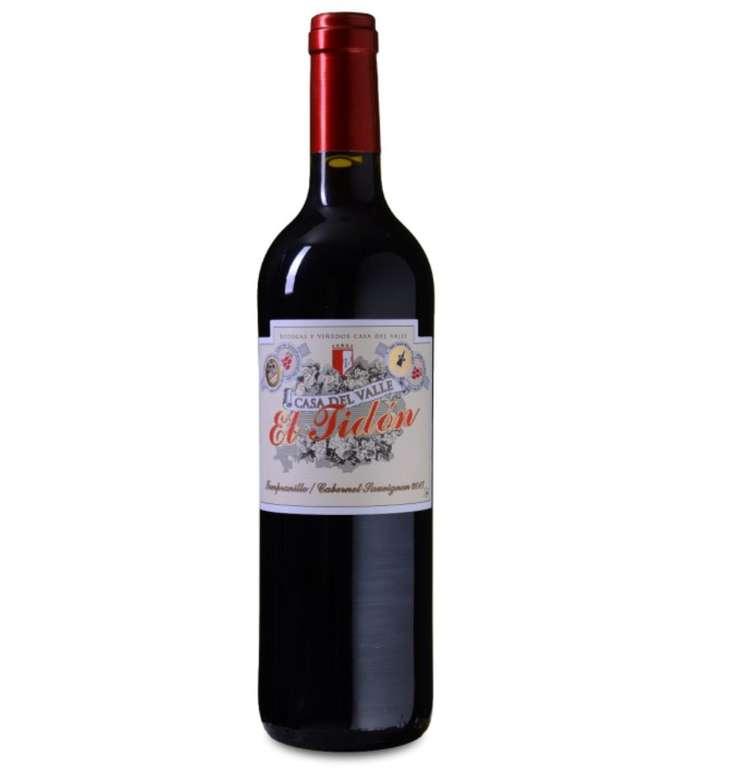 12 Flaschen Casa del Valle El Tidón Tempranillo-Cabernet Sauvignon für 49,05€
