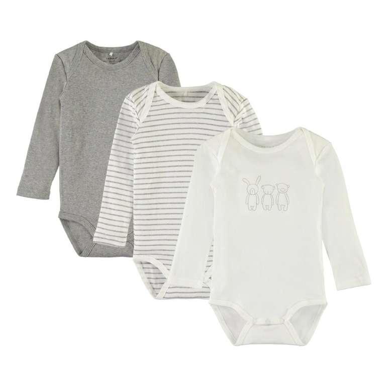 Name it Baby-Body im 3er Pack für 10,94€ inkl. Versand (statt 13€)