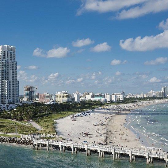 Miami: Hin- und Rückflug mit Lufthansa von Frankfurt (März) ab 319€