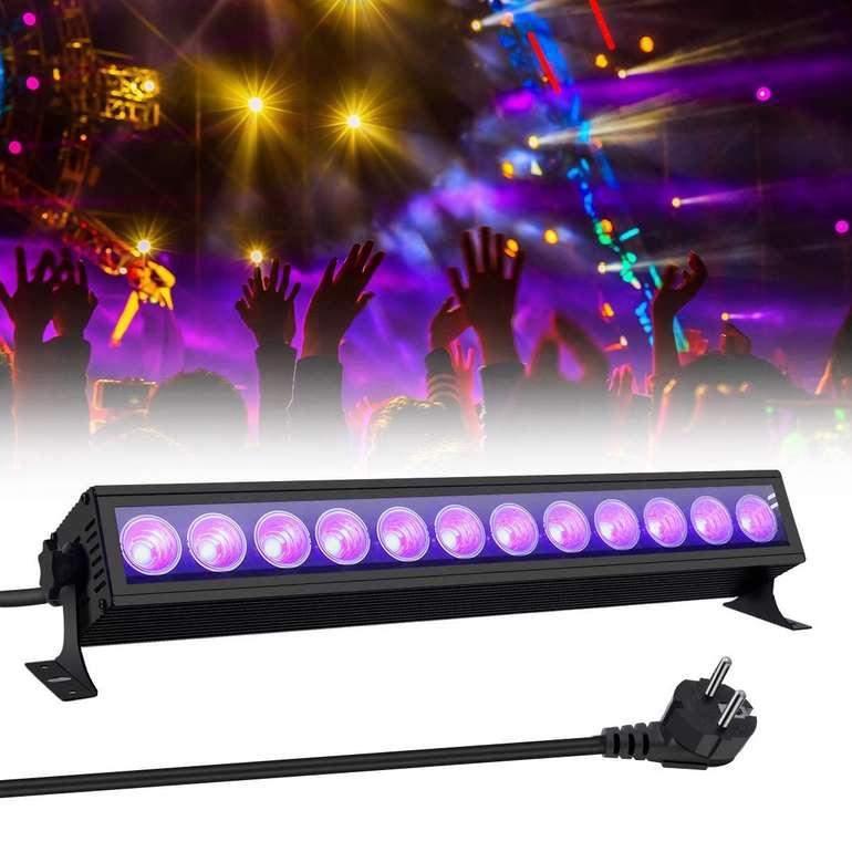 Glime UV Schwarzlicht Lampe mit 12 LEDs für 16,73€ inkl. Prime VSK
