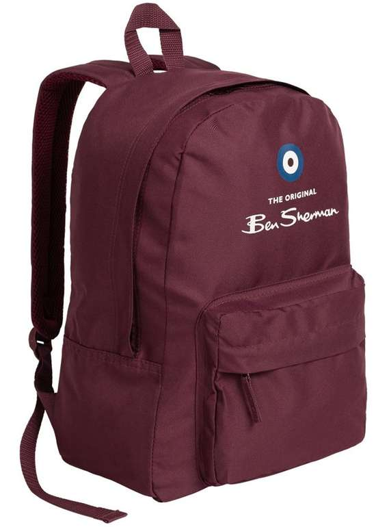 Ben Sherman Classic Logo Rucksack BSS0467-766 für 5,55€ inkl. Versand (statt 16€)