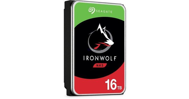 """Seagate IronWolf - 16TB NAS Festplatte (SATA 6 Gb/s, 3,5"""") für 479€ (statt 508€)"""