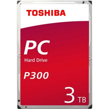 Toshiba P300 - 3TB High-Performance Festplatte für 59,40€ (statt 70€)