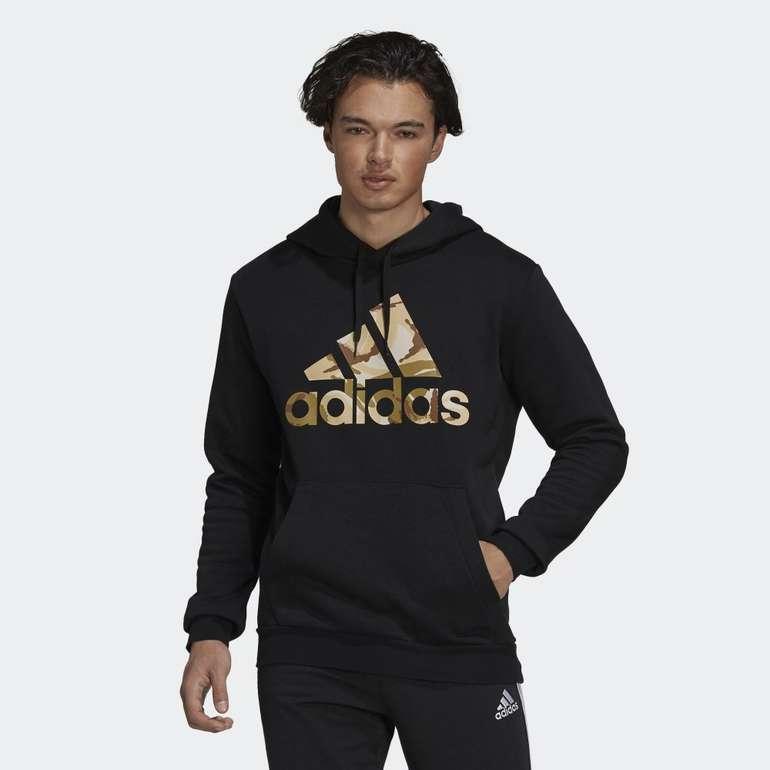Adidas Essentials Fleece Camo-Print Herren Hoodie für 38,50€ inkl. Versand (statt 44€)