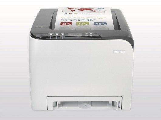Ricoh SP C252DN Farb-Laserdrucker (A4, Drucker, Duplex, WLAN, USB) für 99€