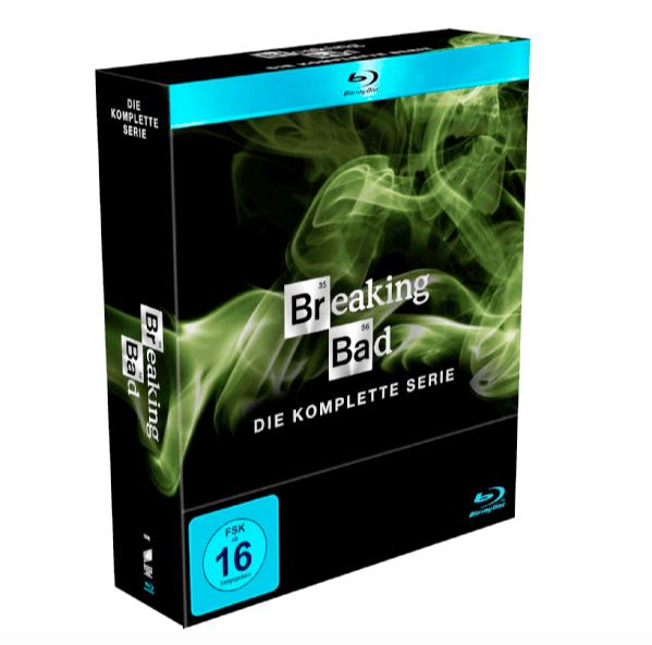 Breaking Bad – Die komplette Serie [Blu-ray] für 44,99€ inkl. VSK (statt 51€)