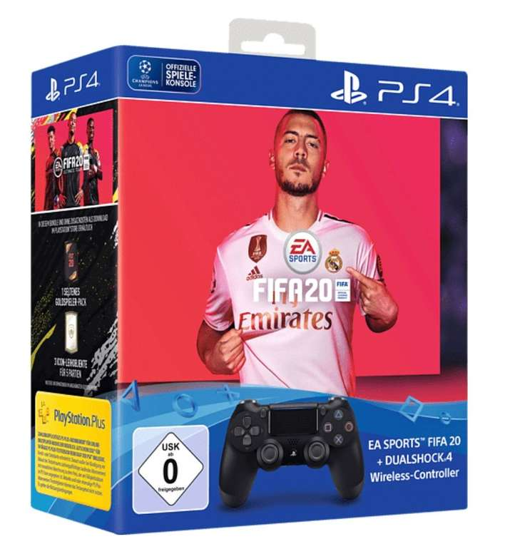 Sony PlayStation Days of Play bei Media Markt - z.B. DualShock Controller + FIFA 20 für 59,99€ (Vergleich: 80€)