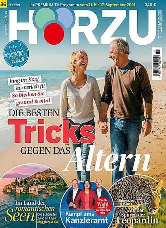 1 Jahr Hörzu TV-Zeitschrift für 125€ + z.B. 100€ Bestchoice Gutschein