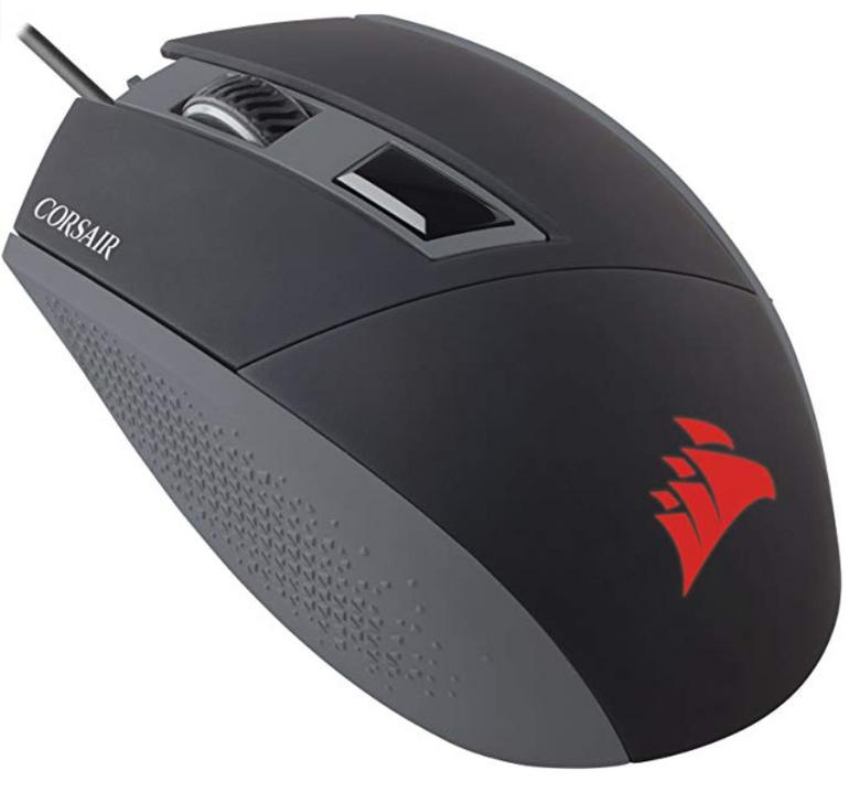 Corsair Katar Gaming Maus (Beidhändig, LED, 8000 DPI) für 10,98€ (statt 25€)