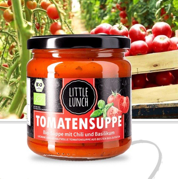 30% Rabatt auf Little Lunch Tomaten- und Little Italy Suppe (350ml für 2,10€) - VSKfrei ab 17 Stück