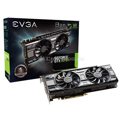 GeForce GTX 1070 Ti SC Gaming ACX 3.0 Black Edition, 8196 MB GDDR5 für 404,99€