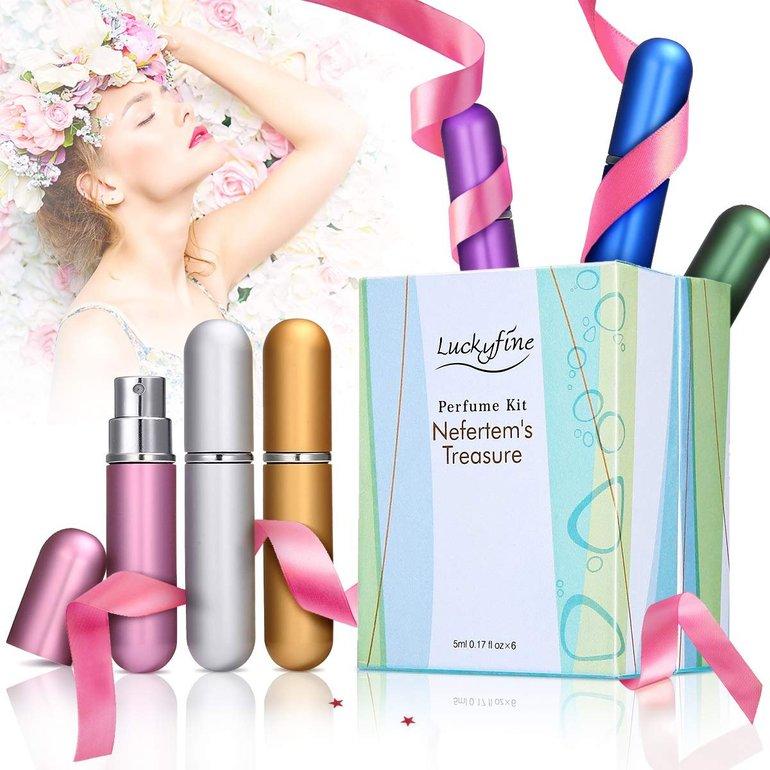 Luckyfine Parfüm Set (6 x 5ml) für 8,39€ inkl. Prime Versand (statt 14€)