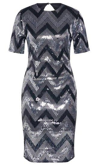 Pop Copenhagen Sparkle Open-back Dress Kleid für 38,32€ inkl. Versand