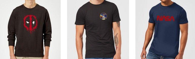 Zavvi T-Shirt + Sweatshirt 2