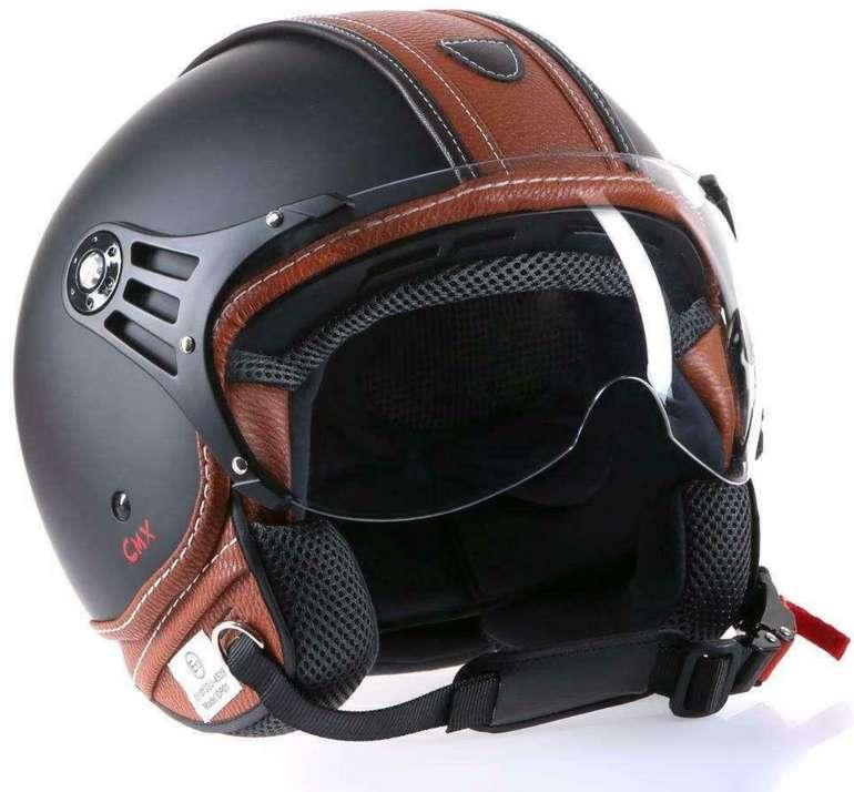 eBay: 10% Rabatt auf Auto- und Motorradteile - z.B CMX Jethelm Motorradhelm in braun für 31,45€ inkl. Versand
