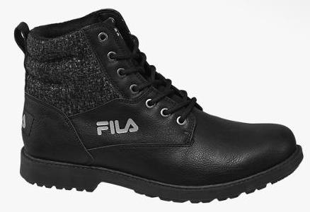 Fila Herren Boots in schwarz (Größe: 43 bis 47) für 19,99€ inkl. Versand