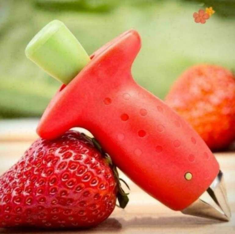 China-Gadget: Erdbeerschneider für 1,24€ inkl. Versand