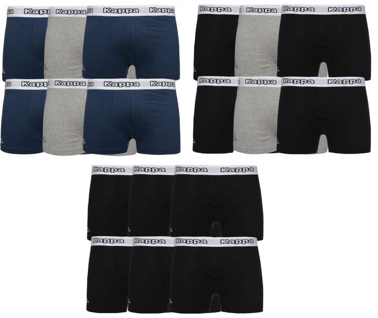 6er Pack Kappa Cedrick Herren Boxershorts für 24,99€ inkl. Versand