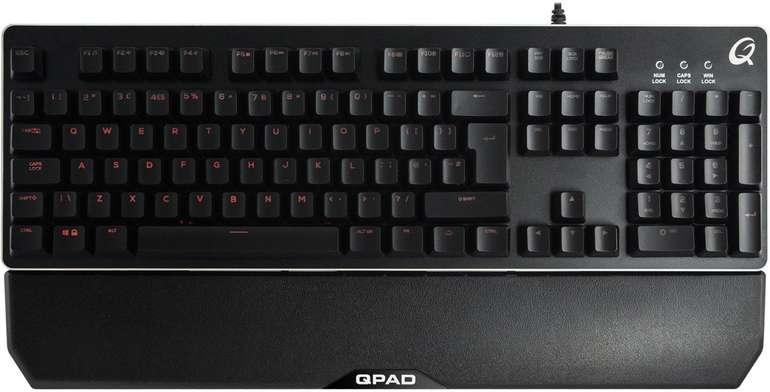 Qpad MK-40 Pro Gaming Membranical Tastatur für 36,89€ inkl. Versand