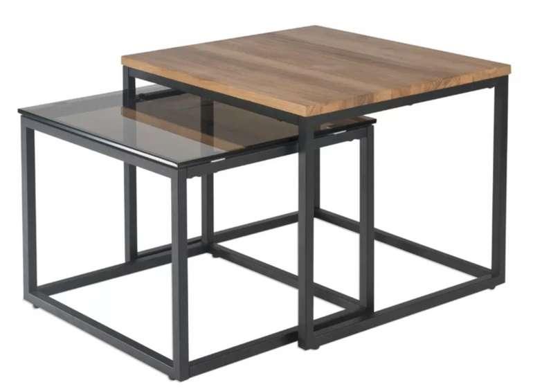 Ebern Designs Satztisch-Set Dominga (2-tlg.) für 267,99€inkl. Versand (statt 368€)