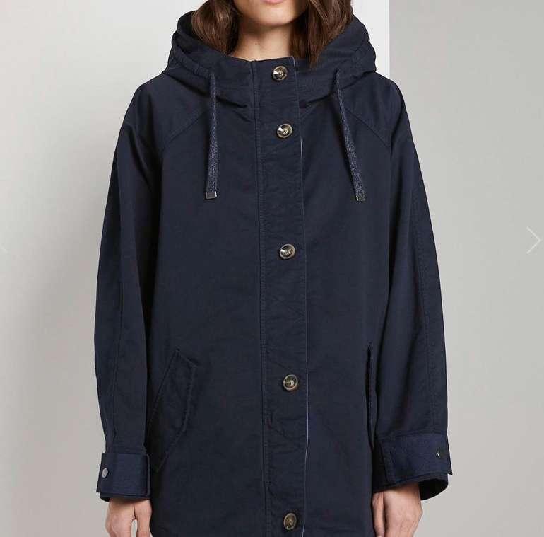 20% Rabatt auf Tom Tailor Jacken & Mäntel - z.B. Moderner Damen Cape-Parka für 80,98€ (statt 120€)