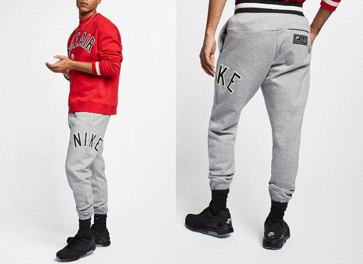 Nike F063 Air Retro Pant Jogginghose Grau 2