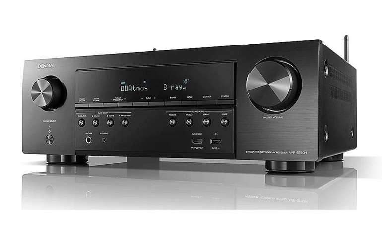 Denon AVR-S750H - 7.2 AV 3D HDR DTS:X Receiver (Alexa kompatibel) für 315€ (statt 349€)