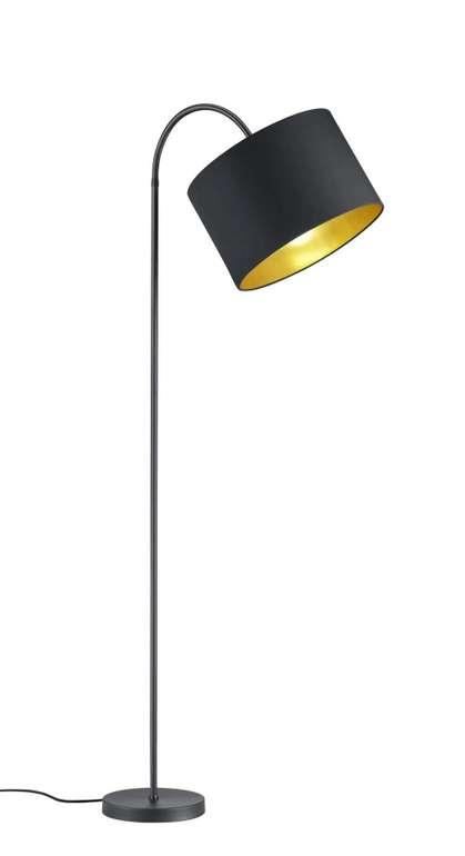 Trio Leuchten Hostel Stehleuchte in Schwarz Matt/ Gold für 39,99€ inkl. Versand (statt 59€)