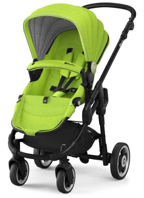 Kiddy Evoglide 1 Kinderwagen (2017) in Lime Green für 234,99€ inkl. Versand