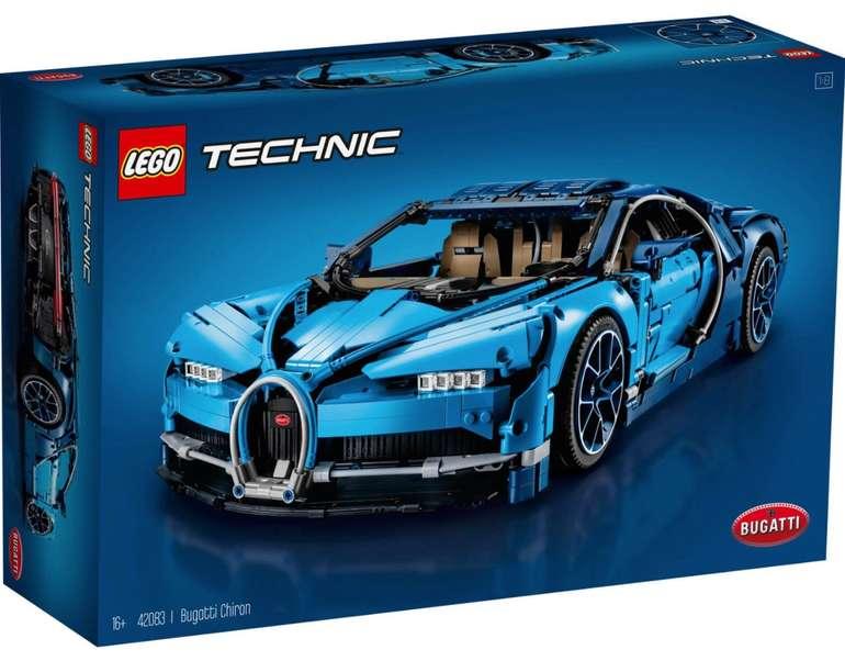 Lego Bugatti Chiron (42083) für 236,24€ inkl. Versand (statt 260€) - Kundenkarte!