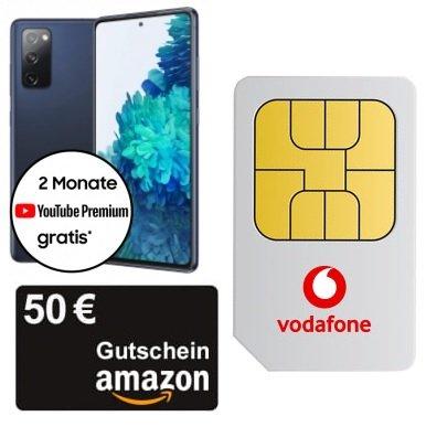 Samsung Galaxy S20 FE (2021) für 4,99€ + Vodafone Smart L mit 5GB LTE für 29,99€ mtl.+  50€ Amazon Gutschein
