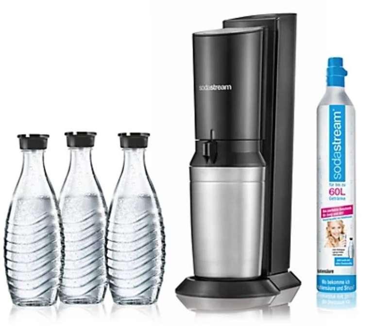 SodaStream Crystal 2.0 Wassersprudler mit 3 Karaffen + 1x Zylinder für 84,95€ (statt 94€) - QVC Neukunden!