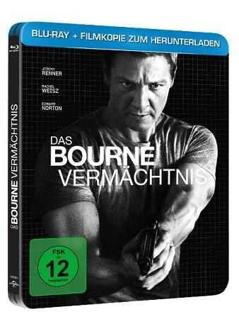 Das Bourne Vermächtnis (Steelbook Edition) für 7€ inkl. VSK (statt 9€)
