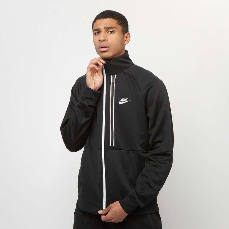 Nike Sportswear Heritage Essential Herren Jacke in Schwarz für 35,99€ inkl. Versand (statt 55€)