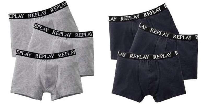 6er Pack Replay Herren Boxershorts für 36,49€ inkl. Versand (statt 58€)