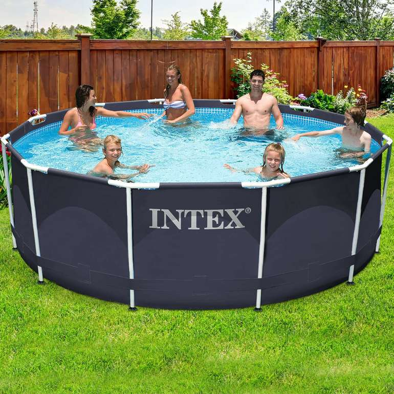 Intex Steel Frame Swimming Pool (366 x 122 cm, 10.685 Liter) für 251,95€ inkl. Versand (statt 294€)