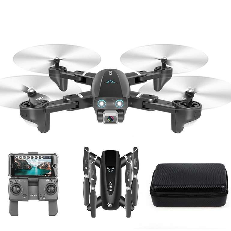 CSJ S167 Drohne (GPS, 5G, 4K Kamera) für 46,99€ inkl. Versand (statt 80€)