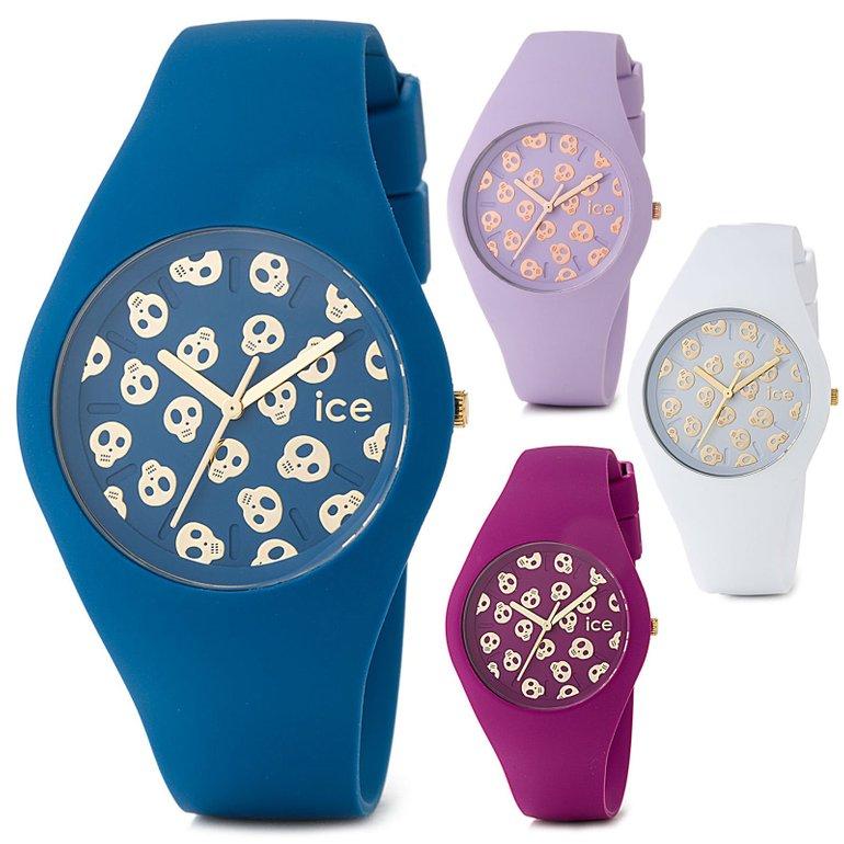 Ice Watch Skull Armbanduhr mit Silikonarmband ab 19,99€ inkl. Versand
