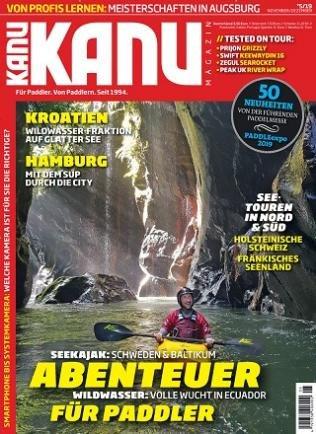 Kanu Magazin im Jahresabo (6 Ausgaben) für 38,80€ + 40€ Prämie