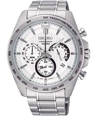 Seiko SSB297P1 Herren Chronograph Quarz Uhr mit Edelstahl Armband für 93€