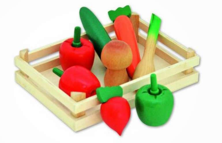 Tanner Kaufladenzubehör Gemüsekiste für 5€ (statt 13€) - Filialabholung